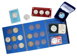 Large Group Boxed/Book Set Silver Coins