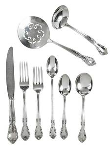 American Classic Sterling Flatware, 48 Pieces