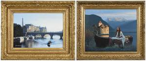 Two Period Frames, Giclee