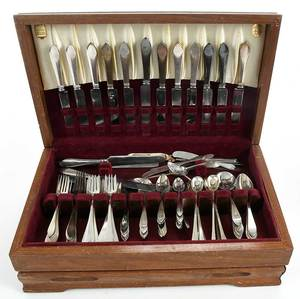 Tiffany Faneuil Sterling Flatware, 126 Pieces