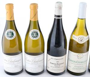 Six Vintage Bottles Côte de Beaune