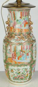 Three Chinese Famille Rose Porcelain Vases