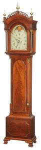 Pennsylvania Chippendale Tall Case Clock