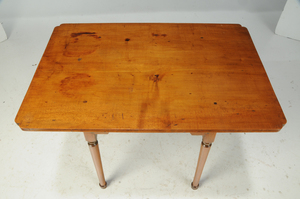 American Queen Anne Maple Tea Table