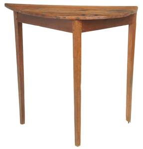 Southern Federal Tall Yellow Pine Table