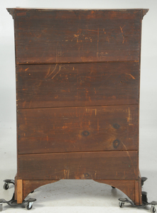 New England Federal Maple Tall Chest