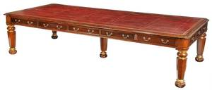 Monumental William IV Style Conference Table