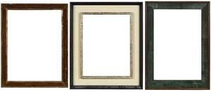 Three 20th Century Frames