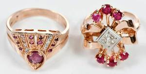 Two 14kt. Gold Rings