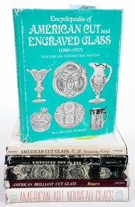 Appx 125 Cut Glass Reference Books