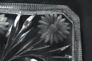 Four Cut Glass Table Items