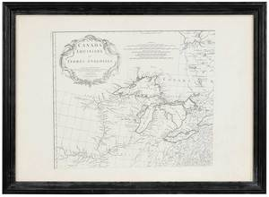Map of New England and New France