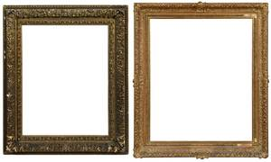 Two Gilt Wood and Composition Frames