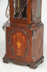 Aesthetic Movement Chiming Tall Case Clock