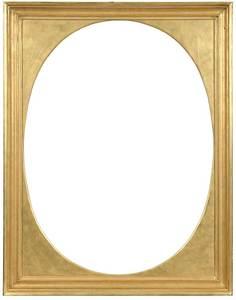 19th Century Style Gilt Wood Frame