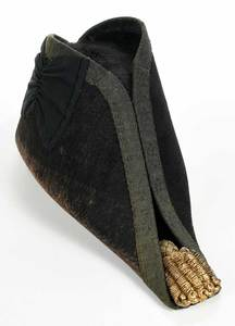 Hanoverian Naval Bicorn Hat in Tole Case