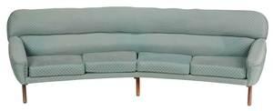 Mid-Century Modern Sofa by Illum Wikkelsø