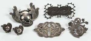 Five Pieces Sterling Jewelry