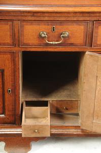 Fine Welsh Oak Cupboard Base and Rack