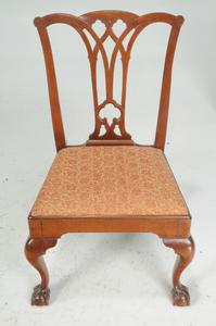 Pair Pennsylvania Chippendale Mahogany Chairs