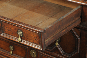Diminutive William and Mary Chest of Drawers