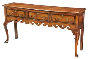 Welsh Inlaid Oak Dresser