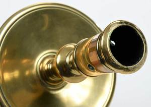 Fine Pair Heemskirk Brass Candlesticks