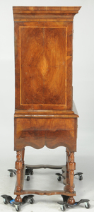 William and Mary Inlaid Walnut High Chest