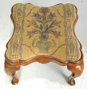 Period Queen Anne or Queen Anne Style Footstools
