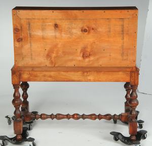 William and Mary Style Tiger Maple Desk