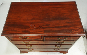 Two Similar Period Georgian Bachelor's Chests