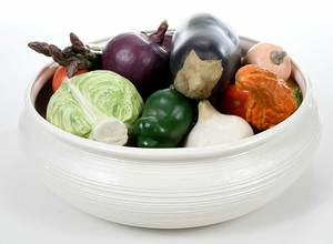 Collection Mary Kirk Kelly Porcelain Vegetables