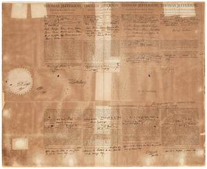 Thomas Jefferson and James Madison Document