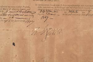 Thomas Jefferson and James Madison Document