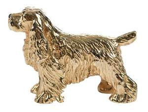 14kt. Dog Brooch