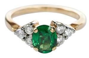 Jabel 18kt. Garnet & Diamond Ring