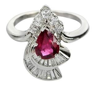 14kt. Ruby & Diamond Ring