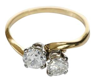 Jabel 14kt. Diamond Ring