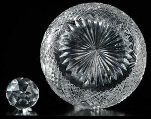 Four Cut Glass Decanters, Dorflinger