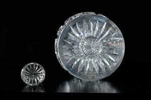 Four Cut Glass Decanters, Clark, Blackmer