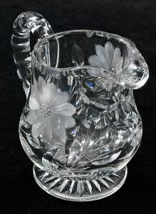 Seven Cut Glass Table Objects