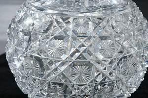 Two Cut Glass Decanters, Egginton