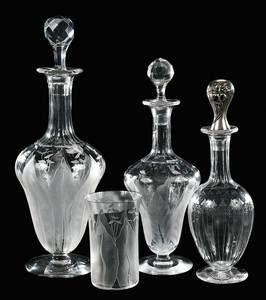 Four Kalana by Dorflinger Items