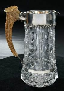 Cut Glass Pitcher, Mt. Washington/Pairpoint