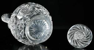 Cut Glass Quaker City Claret Decanter