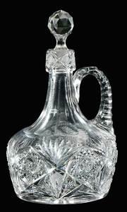 Cut Glass Decanter, J. Hoare