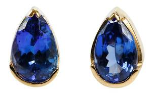 14kt. Tanzanite Earrings