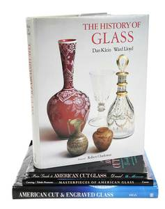 27 Cut Glass Reference Books and Pamphlets
