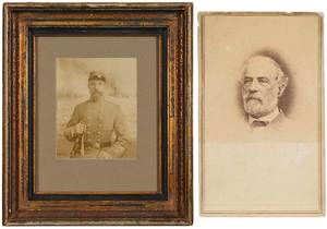 Two Civil War Related Photographs