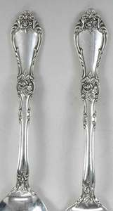 Wallace Royal Rose Sterling Flatware, 35 Pieces